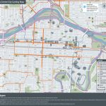 The City Of Calgary   Cycling And Walking Route Maps For Printable Map Of Downtown Calgary