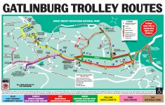 The Gatlinburg And Pigeon Forge Trolley – Dw Parks And More regarding Printable Map Of Pigeon Forge Tn