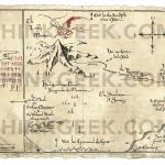 The Hobbit: Thorin's Map Parchment Art Print | Thinkgeek Inside Thror's Map Printable
