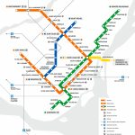 The Montreal Metro Map   News Construction And Development Pose Intended For Montreal Metro Map Printable