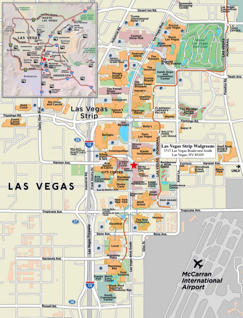 The Strip Map Las Vegas Nv | Afputra with Printable Las Vegas Strip Map 2016