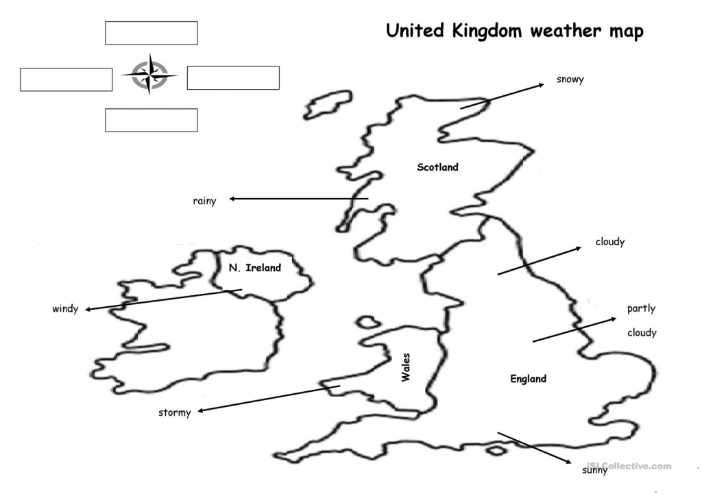 The Weather Map Worksheet - Free Esl Printable Worksheets Made with regard to Weather Map Worksheets Printable