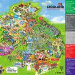 Theme Park Brochures Legoland California Resort   Theme Park Brochures For Legoland Printable Map
