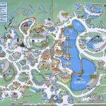 Theme Park Brochures Sea World Orlando   Theme Park Brochures Intended For Seaworld Orlando Map Printable