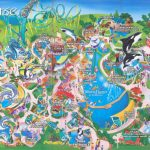 Theme Park Brochures Sea World Orlando   Theme Park Brochures Pertaining To Seaworld Orlando Map Printable