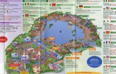 Epcot Park Map Printable