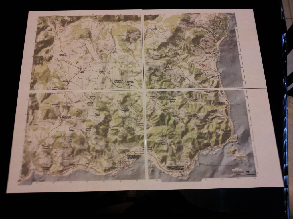 Think I Might Be Taking Dayz A Bit Too Seriously. : Dayz with regard to Printable Dayz Standalone Map