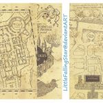 This Is A Copy Of The Marauders Map, 36 Scans Stitched Together In For Marauders Map Template Printable