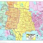 Time Zone Map For The United States Best Printable Map United States Intended For Us Time Zones Map States Name Printable