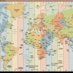 Time Zone World Map   World Wide Maps Intended For World Time Zone Map Printable Free
