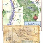 Tolkien's Map Of The Wilderland And Thror's Map.. | Diorama With Thror's Map Printable