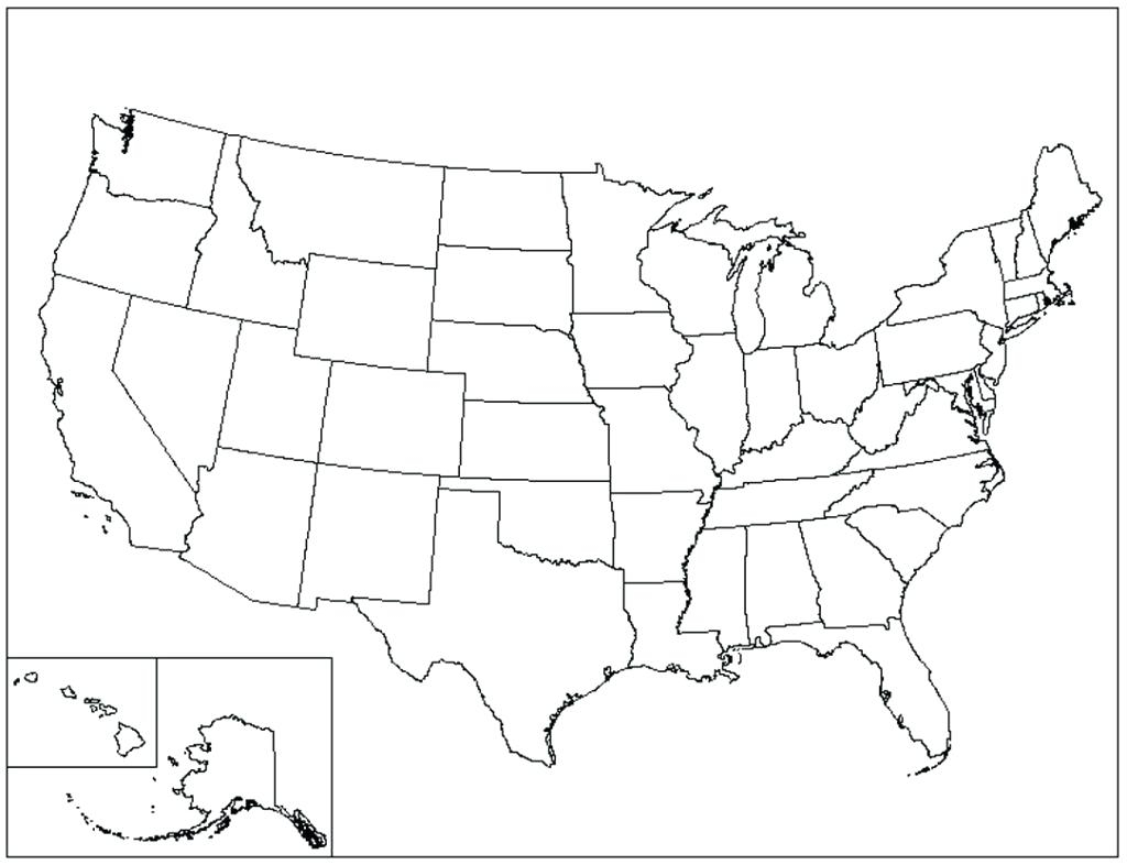 Top Blank Us Map Printable State Outlines Galleries - Printable Map with regard to Printable Blank Us Map With State Outlines