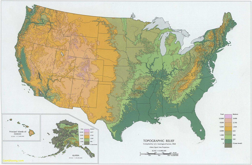 Topographic Map Eastern Us Best Topographic Maps United States intended for Printable Topographic Map Of The United States