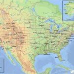 Topographical Map Of Arizona   Secretmuseum Inside Free Printable Topo Maps Online