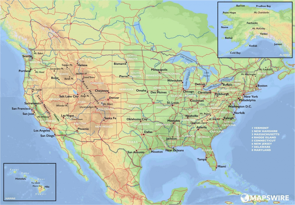 Topographical Map Of Arizona | Secretmuseum inside Free Printable Topo Maps Online