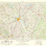 Topographical Map Print   Waco Texas Quad   Usgs 1964   23 X 35.15 In Printable Map Of Waco Texas