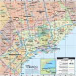 Toronto Road Map Inside Printable Map Of Toronto