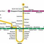 Toronto Subway Map 2019 | Toronto Info Within Toronto Subway Map Printable