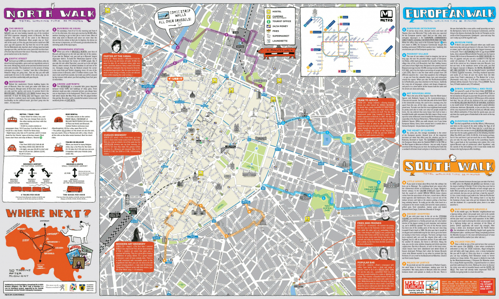 Tourist Map Brussels | City Maps with regard to Tourist Map Of Brussels Printable