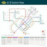 Train System Map | Mrt & Lrt Trains | Public Transport | Land Inside Singapore Mrt Map Printable
