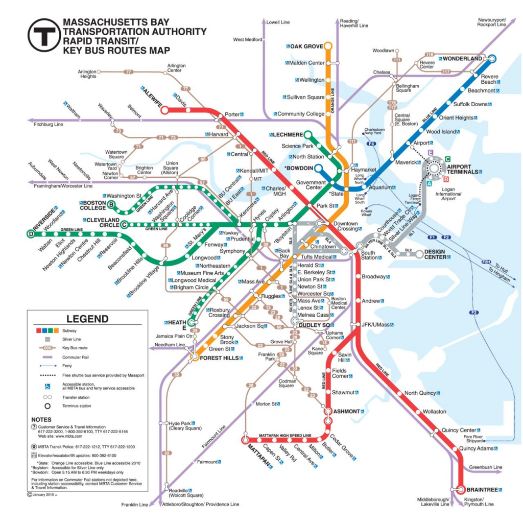 Transit Maps - Cool Blog | Sites Of The Web In 2019 | Boston Travel for Mbta Subway Map Printable