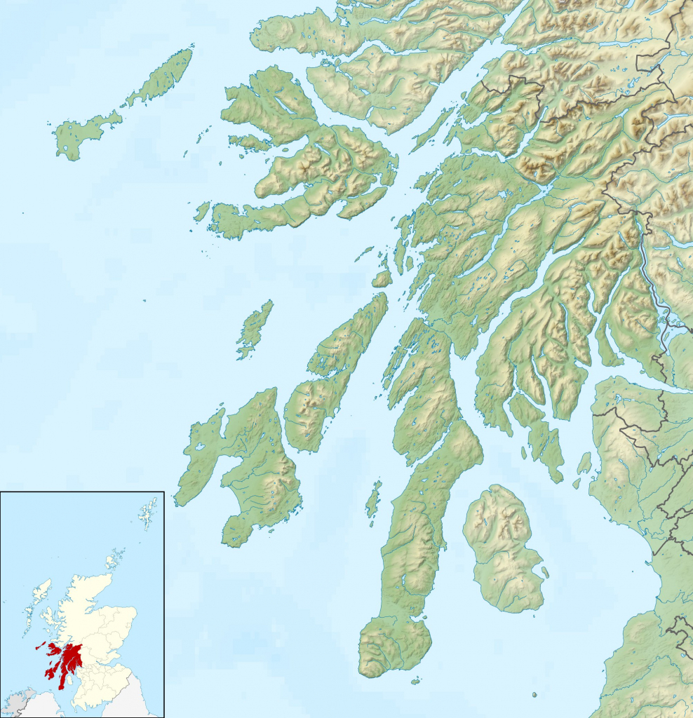 Treshnish Isles - Wikipedia throughout Printable Map Of Mull