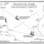 Triangular Trade With Triangular Trade Map Printable