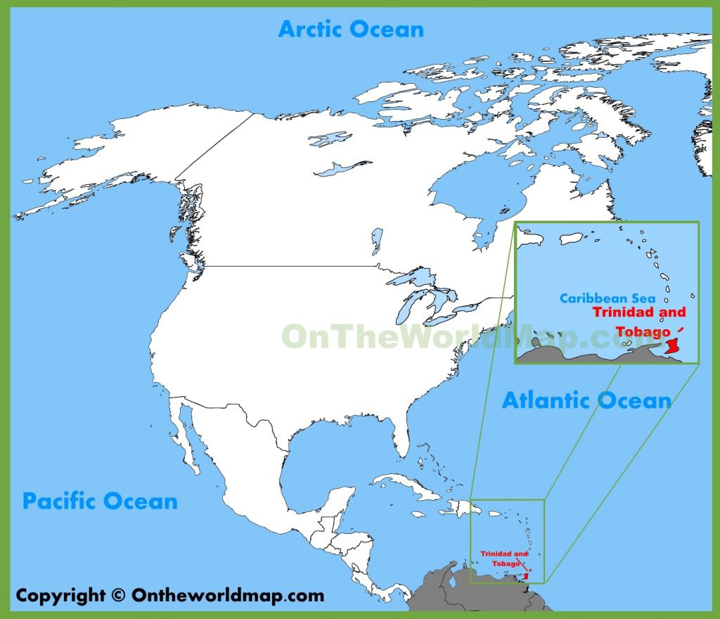 Trinidad And Tobago Maps | Maps Of Trinidad And Tobago intended for Printable Map Of Trinidad And Tobago