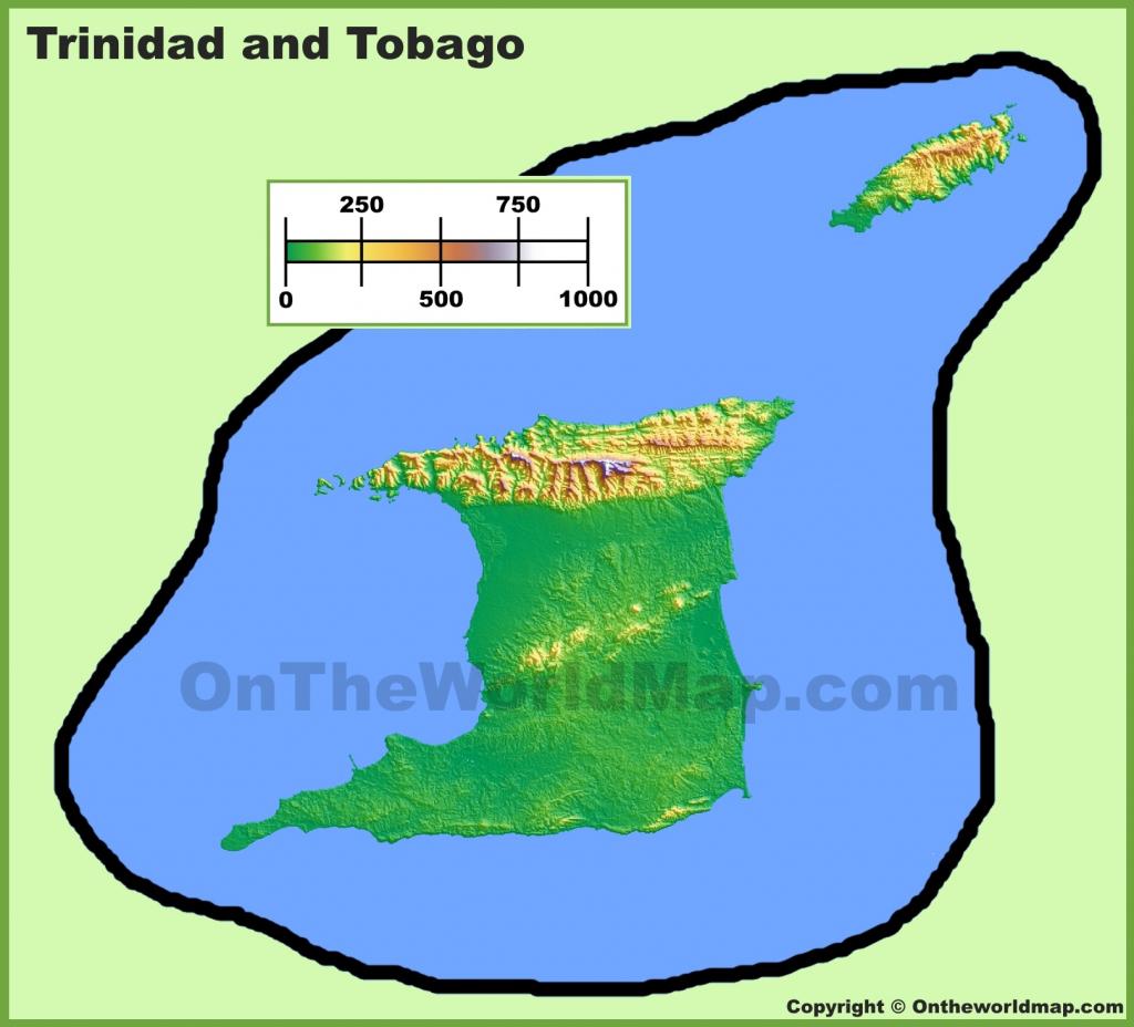 Trinidad And Tobago Maps | Maps Of Trinidad And Tobago with regard to Printable Map Of Trinidad And Tobago