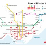 "Ttc Design On Twitter: ""a Printable Version Of Our New Subway And Intended For Toronto Subway Map Printable"