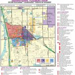 Tucson Downtown Map Regarding Printable Map Of Tucson Az