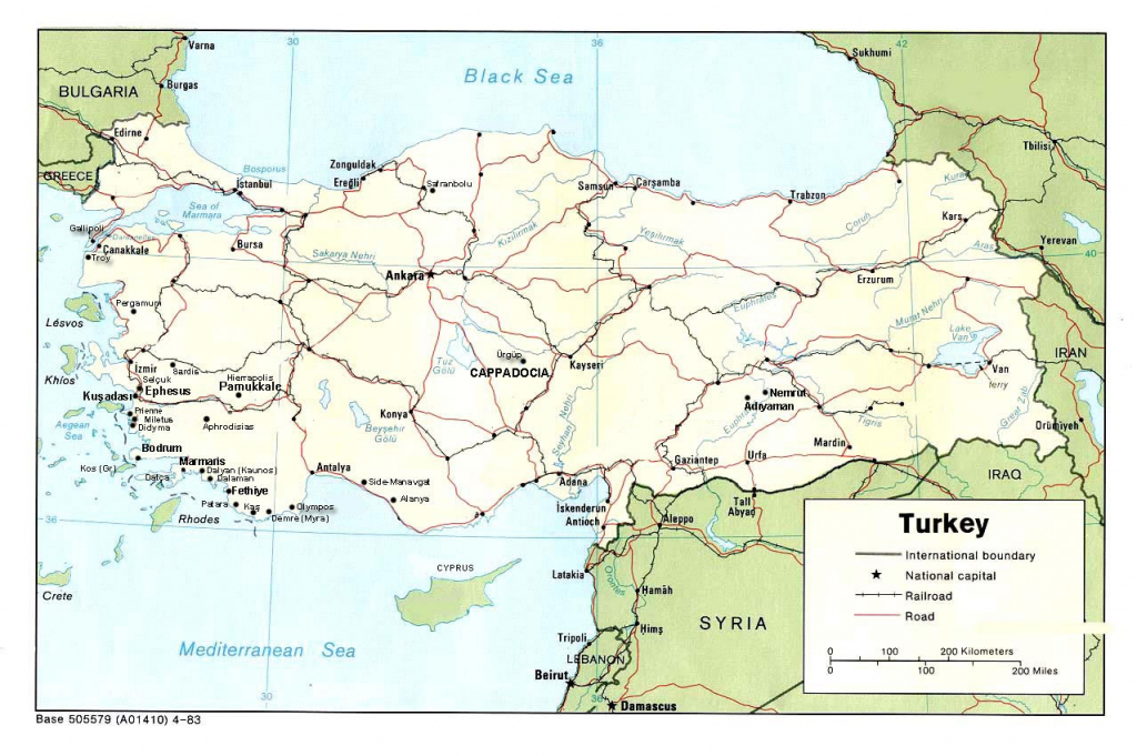 Turkey Maps | Printable Maps Of Turkey For Download with Printable Map Of Turkey