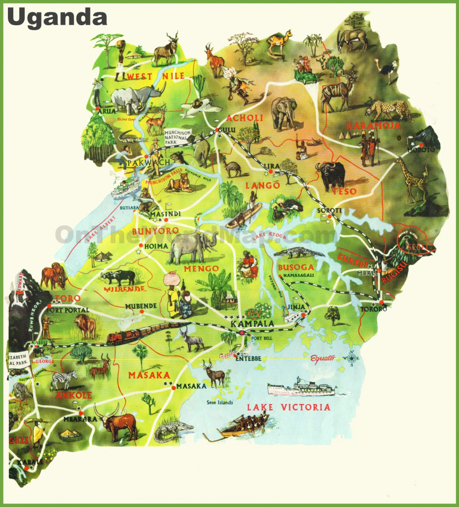 Uganda Maps | Maps Of Uganda intended for Printable Map Of Uganda