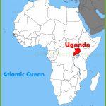 Uganda Maps | Maps Of Uganda With Printable Map Of Uganda