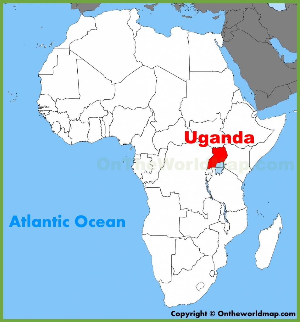 Uganda Maps | Maps Of Uganda with Printable Map Of Uganda