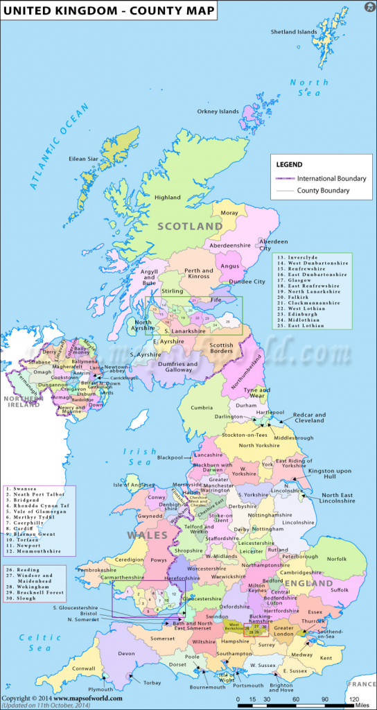 Uk Counties Map | Map Of Counties In Uk | List Of Counties In United throughout Printable Map Of Uk Counties