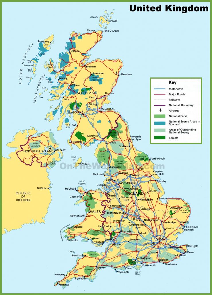 Uk Maps | Maps Of United Kingdom for Uk Map Printable Free