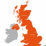 Uk Outline Map   Royalty Free Editable Vector Map   Maproom In Free Printable Map Of Uk And Ireland