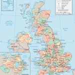 United Kingdom Map   England, Wales, Scotland, Northern Ireland Within Printable Map Of England And Scotland