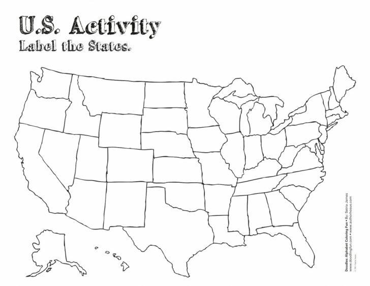 Blank Us Map Printable Pdf