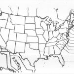 United States Blank Map Quiz Fresh Us Map Black And White Outline Us With Us Map Quiz Printable Free