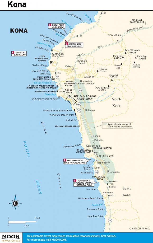 United States Map Hawaiian Islands Save Printable Travel Maps Of The for Big Island Map Printable