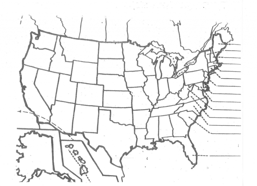 United States Map Printable Pdf New Printable Blank Usa Map pertaining to Usa Map Printable Pdf