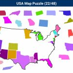 United States Map Puzzle Amazon Valid United States Puzzle Game Best throughout United States Map Puzzle Printable