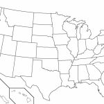 United States Outline Map Pdf Fresh Blank Map Us Blank Us Outline Regarding Blank Us Map Printable Pdf