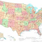 United States Printable Map Pertaining To Printable State Road Maps