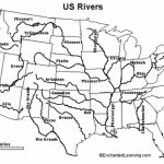 United States River Map And Cities World Maps With Rivers Labeled For Us Rivers Map Printable