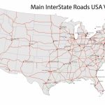 United States Road Map Free And Travel Information | Download Free With United States Road Map Printable