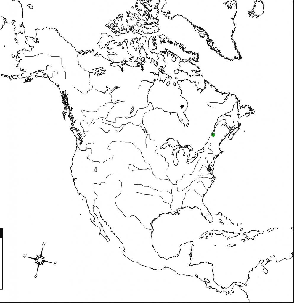 Us And Canada Political Map North America Political Inspirational with regard to North America Political Map Printable