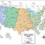 Us Area Code Map Printable Inspirationa United States Area Codes Map With Us Area Code Map Printable